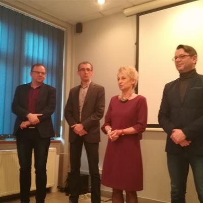 Spotkanie Wielkanocne Małgorzaty Ochęduszko-Ludwik w Wojewódzkim Urzędzie Pracy w Katowicach